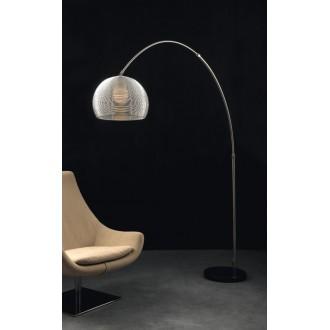 MAXLIGHT 3825F | Pazifik Maxlight podna svjetiljka 220cm s prekidačem 3x E27 aluminij, crno