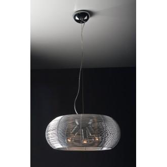 MAXLIGHT 3826PB | Pazifik Maxlight visilice svjetiljka 3x E27 aluminij, crno