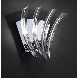 MAXLIGHT 3829/3W | EmmaM Maxlight zidna svjetiljka 3x G4 krom