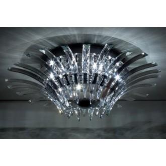 MAXLIGHT 3960/12C | Kristal Maxlight stropne svjetiljke svjetiljka 12x G4 krom, prozirno