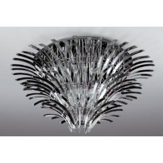 MAXLIGHT 3960/26C | Kristal Maxlight stropne svjetiljke svjetiljka 26x G4 krom, prozirno