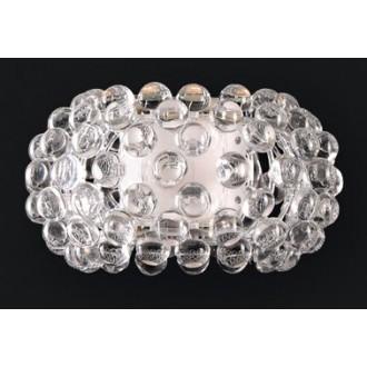MAXLIGHT 8009W | Mirage Maxlight zidna svjetiljka 1x R7s krom, prozirno