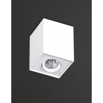 MAXLIGHT C0070 | Basic-Square Maxlight stropne svjetiljke svjetiljka izvori svjetlosti koji se mogu okretati 1x GU10 bijelo