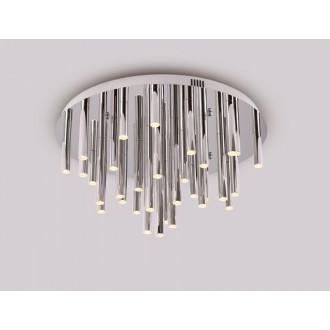 MAXLIGHT C0115 | Organic Maxlight stropne svjetiljke svjetiljka 33x LED 1980lm 3000K krom