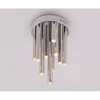 MAXLIGHT C0117 | Organic Maxlight stropne svjetiljke svjetiljka 10x LED 600lm 3000K krom