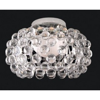 MAXLIGHT C8009-40 | Mirage Maxlight stropne svjetiljke svjetiljka 1x R7s krom, prozirno