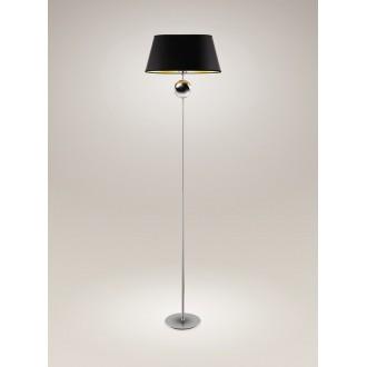 MAXLIGHT F0026   Napoleon Maxlight podna svjetiljka 156cm 1x E27 krom, crno, zlatno