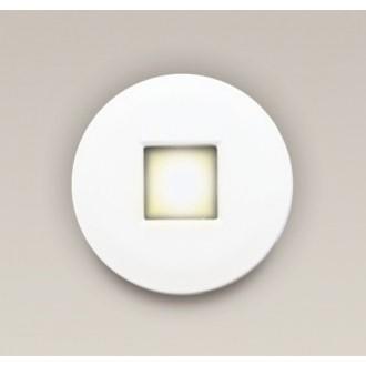 MAXLIGHT H0042 | Oprawa-IP65 Maxlight ugradbena svjetiljka okrugli Ø85mm 1x MR16 / GU5.3 IP65 bijelo