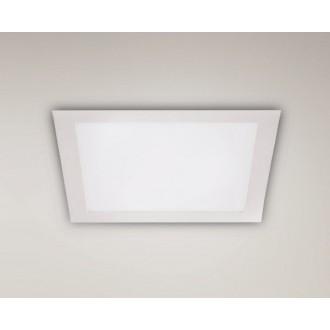MAXLIGHT H0053 | Panelled Maxlight ugradbene svjetiljke LED panel 170x170mm 1x LED 990lm 3000K bijelo mat