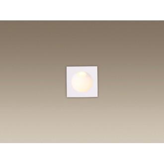 MAXLIGHT H0073 | TimeM Maxlight ugradbena svjetiljka 80x80mm 1x LED 140lm 3000K IP54 bijelo