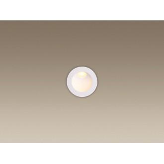 MAXLIGHT H0074 | TimeM Maxlight ugradbena svjetiljka Ø80mm 1x LED 140lm 3000K IP54 bijelo