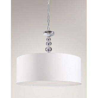 MAXLIGHT P0061 | EleganceM Maxlight visilice svjetiljka 4x E27 krom, bijelo