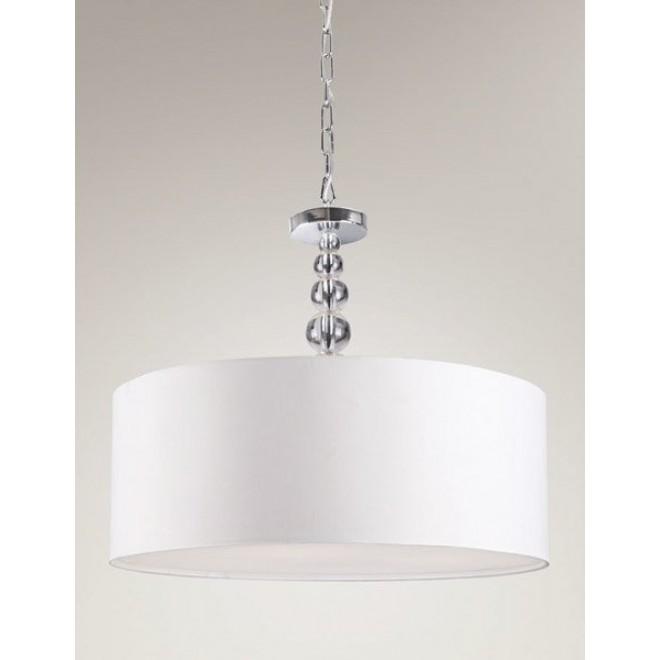 MAXLIGHT P0061   EleganceM Maxlight visilice svjetiljka 4x E27 krom, bijelo