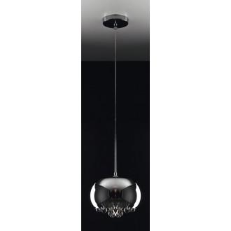 MAXLIGHT P0076-01D | MoonlightM Maxlight visilice svjetiljka 1x G9 krom, prozirno