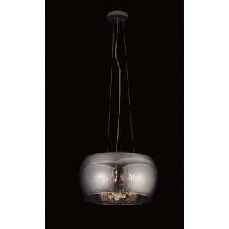 MAXLIGHT P0076-05L | MoonlightM Maxlight visilice svjetiljka 5x G9 krom, prozirno
