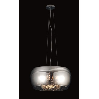 MAXLIGHT P0076-06X | MoonlightM Maxlight visilice svjetiljka 6x G9 krom, prozirno