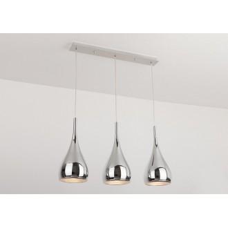 MAXLIGHT P0228 | VigoM Maxlight visilice svjetiljka 3x E27 krom