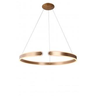 MAXLIGHT P0263 | SydneyM Maxlight visilice svjetiljka 1x LED 2500lm 3000K zlatno