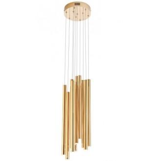 MAXLIGHT P0265 | Organic Maxlight visilice svjetiljka 10x LED 600lm 3000K zlatno