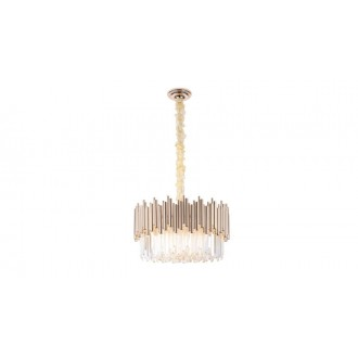 MAXLIGHT P0284 | Vogue-MX Maxlight luster svjetiljka 12x E14 zlatno