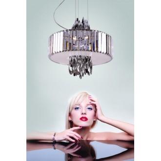 MAXLIGHT P0285 | Olimpic Maxlight luster svjetiljka 5x E14 krom, bijelo
