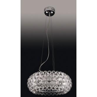 MAXLIGHT P8009-50 | Mirage Maxlight visilice svjetiljka 1x R7s krom, prozirno