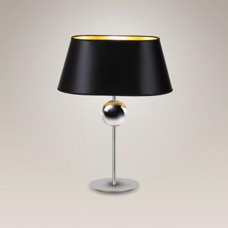 MAXLIGHT T0021   Napoleon Maxlight stolna svjetiljka 54cm s prekidačem 1x E27 krom, crno, zlatno
