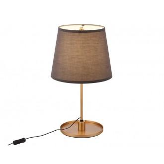 MAXLIGHT T0033 | SydneyM Maxlight stolna svjetiljka 53cm sa prekidačem na kablu elementi koji se mogu okretati 1x LED 600lm 3000K zlatno