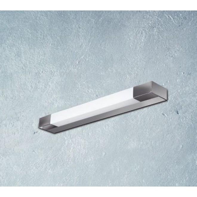 MAXLIGHT W0015 | Ren Maxlight zidna svjetiljka 1x G5 / T5 2700K IP44 krom, poniklano mat