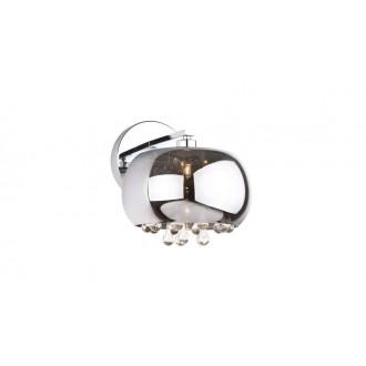 MAXLIGHT W0076-01D | MoonlightM Maxlight zidna svjetiljka 1x G9 krom, prozirno