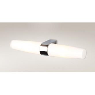 MAXLIGHT W0080 | Badia Maxlight zidna svjetiljka 2x E14 IP44 krom, bijelo