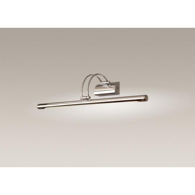 MAXLIGHT W0100 | Roletto Maxlight zidna svjetiljka elementi koji se mogu okretati 1x G5 / T5 brušeni metal