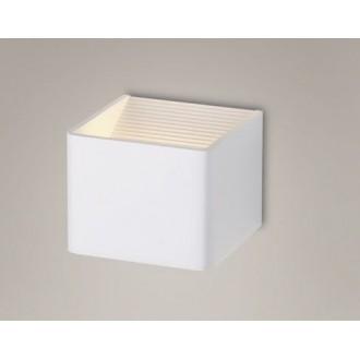 MAXLIGHT W0105 | Duna Maxlight zidna svjetiljka 6x LED 416lm 3000K bijelo mat