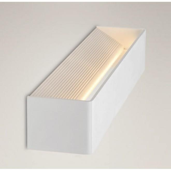 MAXLIGHT W0107 | Duna Maxlight zidna svjetiljka 12x LED 687lm 3000K bijelo mat