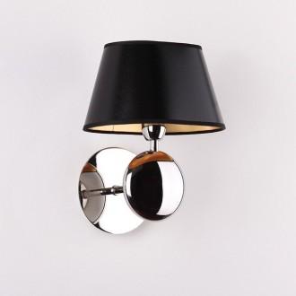 MAXLIGHT W0120   Napoleon Maxlight zidna svjetiljka 1x E14 krom, crno, zlatno