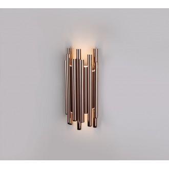 MAXLIGHT W0153 | Organic Maxlight zidna svjetiljka 8x LED 360lm 3000K crveni bakar