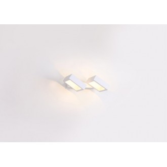 MAXLIGHT W0158 | Rubic Maxlight zidna svjetiljka elementi koji se mogu okretati 2x LED 720lm 3000K bijelo