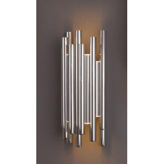 MAXLIGHT W0186 | Organic Maxlight zidna svjetiljka 8x LED 360lm 3000K krom