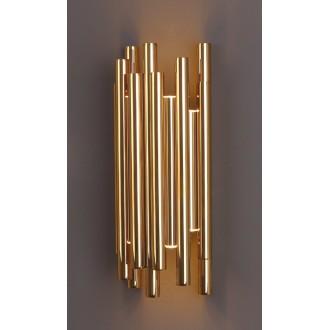 MAXLIGHT W0187 | Organic Maxlight zidna svjetiljka 8x LED 360lm 3000K zlatno