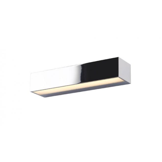 MAXLIGHT W0225 | Krom Maxlight zidna svjetiljka 2x LED 516lm 3000K krom