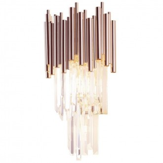 MAXLIGHT W0227 | Vogue-MX Maxlight zidna svjetiljka 4x G9 zlatno