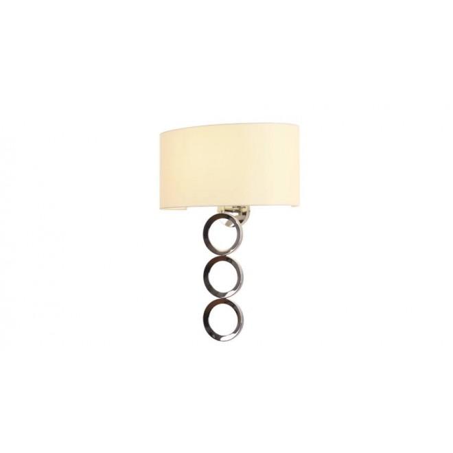MAXLIGHT W0229 | Olimpic Maxlight zidna svjetiljka 1x E14 krom, bijelo