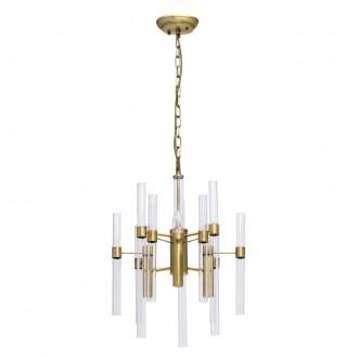 MW-LIGHT 285010703 | Alghero Mw-Light luster svjetiljka 3x E14 1290lm zlatno, prozirno