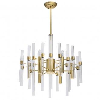 MW-LIGHT 285010806 | Alghero Mw-Light luster svjetiljka 6x E14 2580lm zlatno, prozirno