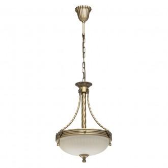 MW-LIGHT 317010303 | Aphrodite-MW Mw-Light visilice svjetiljka 3x E14 1935lm antik bakar, bež