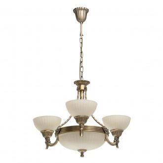 MW-LIGHT 317010406   Aphrodite-MW Mw-Light luster svjetiljka 3x E27 3870lm + 3x E14 antik bakar, bež