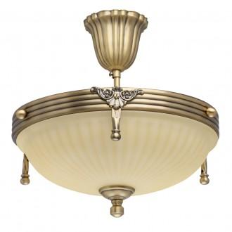 MW-LIGHT 317011403 | Aphrodite-MW Mw-Light stropne svjetiljke svjetiljka 3x E14 1935lm antik bakar, bež