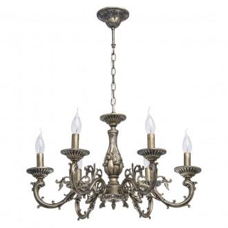 MW-LIGHT 371011106 | Aurora-MW Mw-Light luster svjetiljka 6x E14 3870lm bronca