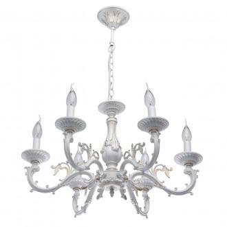 MW-LIGHT 371011206 | Aurora-MW Mw-Light luster svjetiljka 6x E14 3870lm antik bijela
