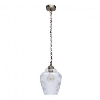 MW-LIGHT 481012001 | Amanda-MW Mw-Light visilice svjetiljka 1x E27 645lm antik bakar, prozirno